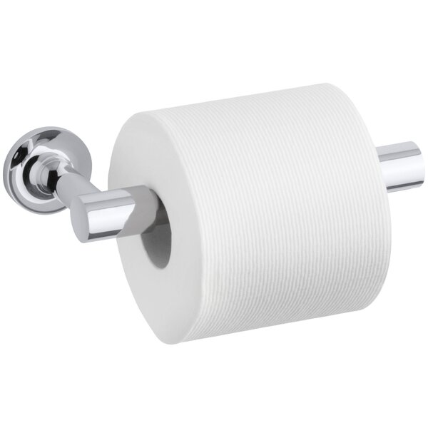 Purist Pivoting Toilet Tissue Holder by Kohler
