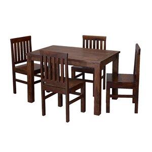 Essgruppe Jaipur mit 4 Stühlen von LPD