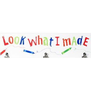 'Look What I Made' Textual Art by Malden