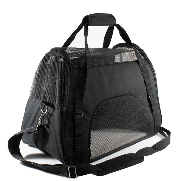 Aycock Portable Heavy Duty Shoulder Bag Pet Carrier by Tucker Murphy Pet