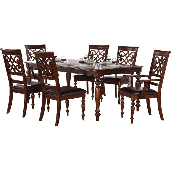 Leith 7 Piece Dining Set by Darby Home Co