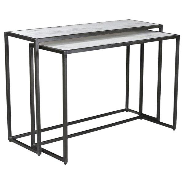 Bea 2 Piece Console Table Set by Orren Ellis