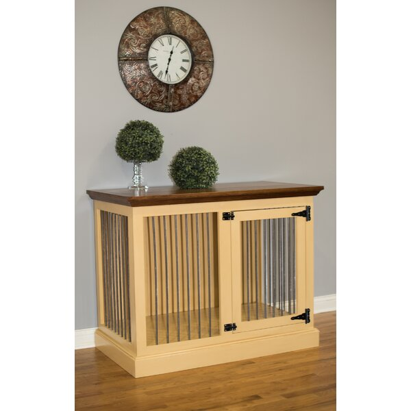 Brooke Single Medium Credenza Pet Crate by Archie & Oscar