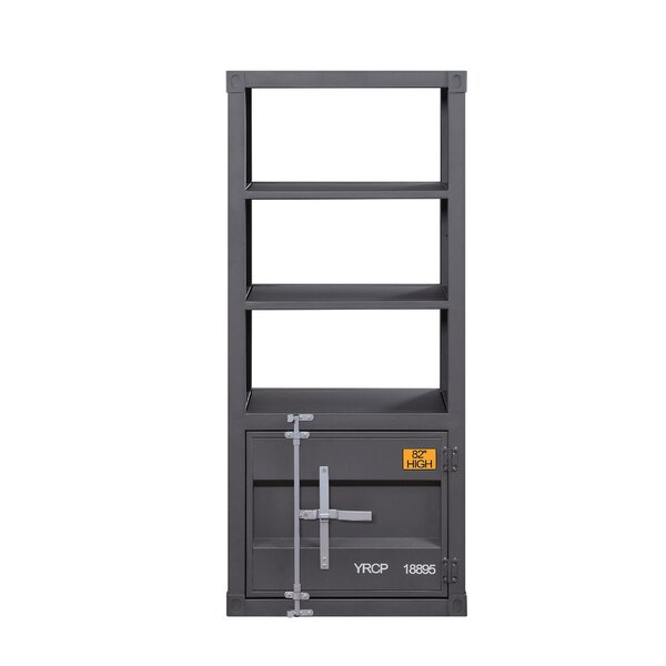 Tailynn Metal Right Side Pier Standard Bookcase By Breakwater Bay