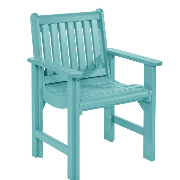 Alanna Patio Dining Chair by Beachcrest Home
