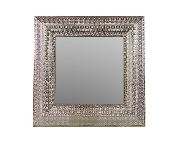 Embossed Border Accent Mirror by Woodland Imports