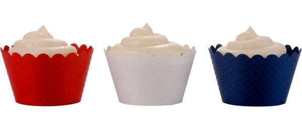 Scalloped Cupcake Wrapper (Set of 36) by Koyal Wholesale