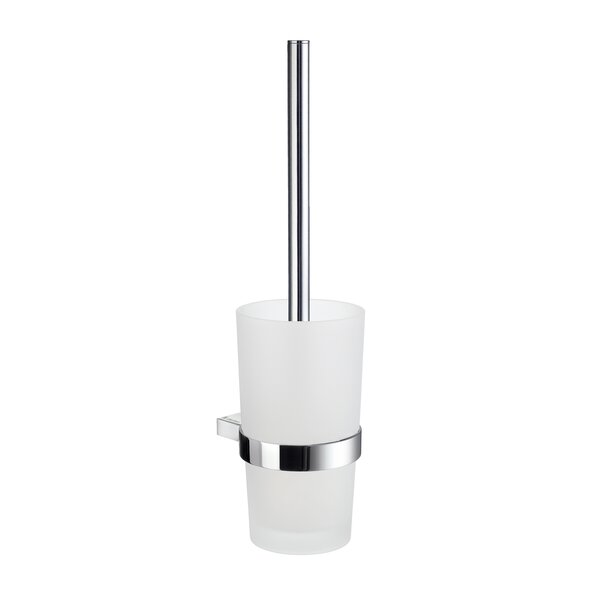 Air Wall MountedToilet Brush and Holder by SmedboAir Wall MountedToilet Brush and Holder by Smedbo