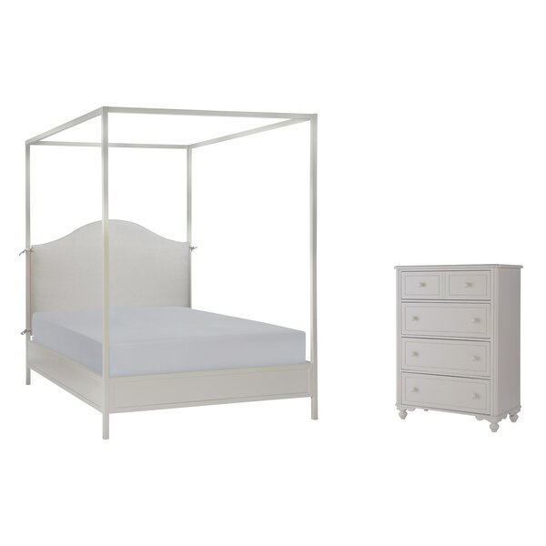 Summerset Metal Canopy Customizable Bedroom Set by LC Kids