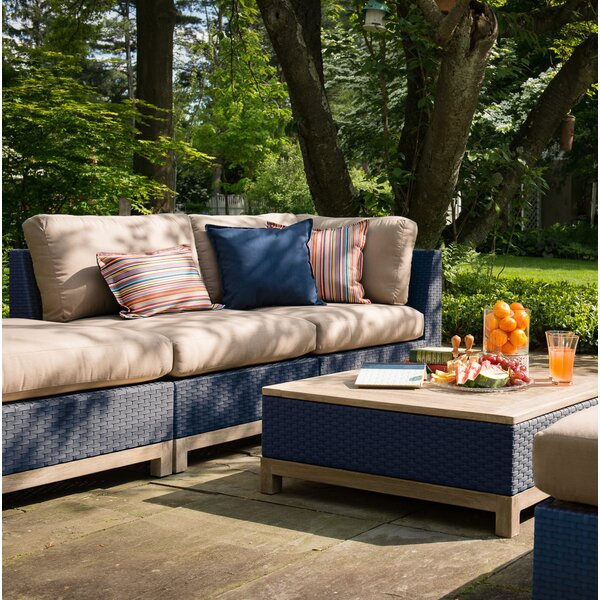 Angelica Sectional with Cushion by Longshore Tides Longshore Tides