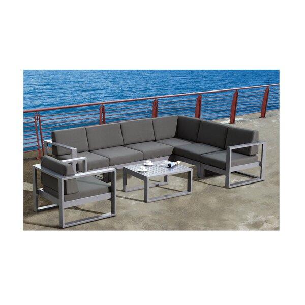 Aruba Aluminum Coffee Table by Feruci