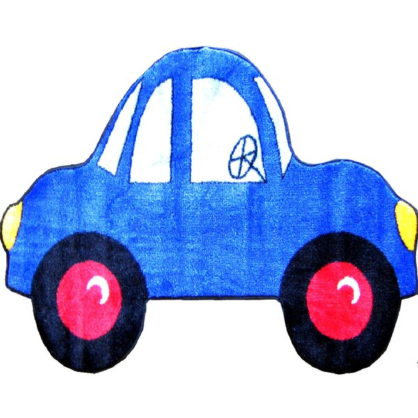 Fun Shape High Pile Car Area Rug by Fun Rugs