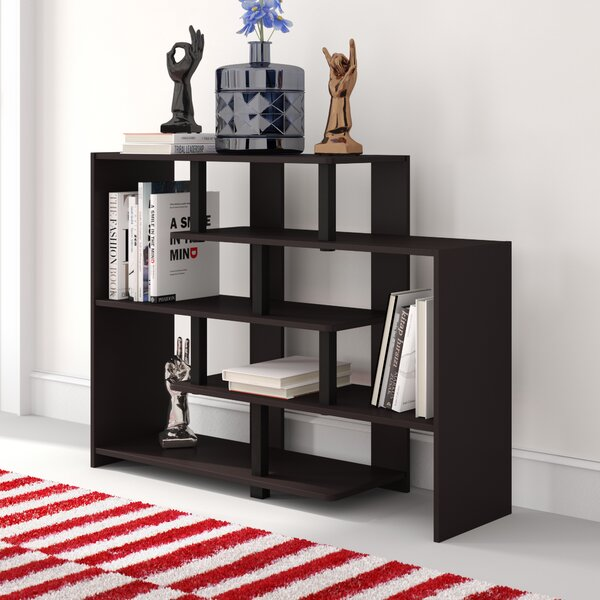 Colletti Geometric Bookcase by Wrought Studio