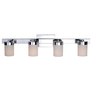 Great deal Tormey 4-Light Vanity Light By Wade Logan