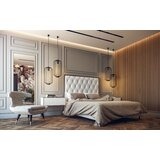 Amy Upholstered Bed byLievo