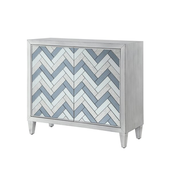 Mattea 2 Door Accent Cabinet by Bungalow Rose Bungalow Rose