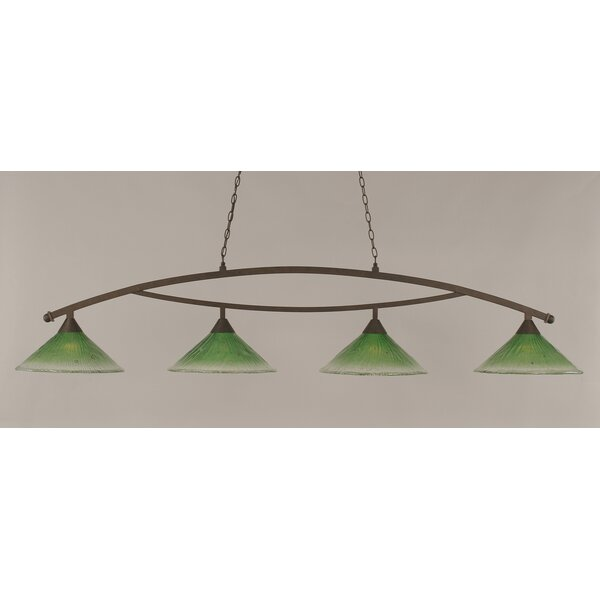 Blankenship 4-Light Kitchen Island Pendant by Fleur De Lis Living