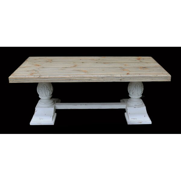 Anyan Trestle Coffee Table By One Allium Way