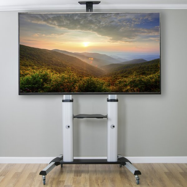 Ultra Heavy Duty Mobile Stand TV Cart Mount by Vivo