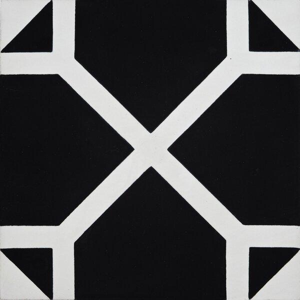 Mogador 8 x 8 Cement Field Tile