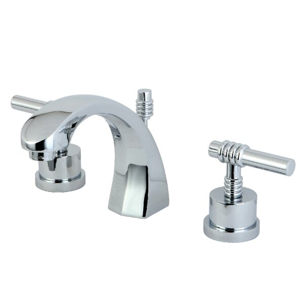 Milano Widespread Bathroom Faucet with Drain Assembly by Elements of Design Elements of Design