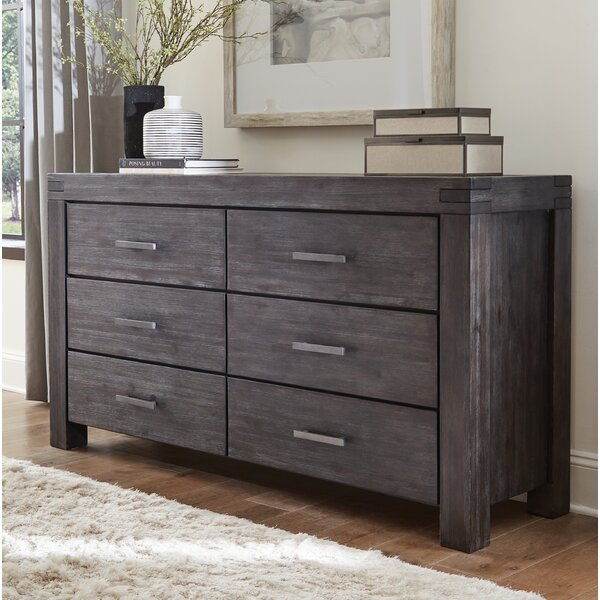 Palo Alto 6 Drawer Dresser by Loon Peak
