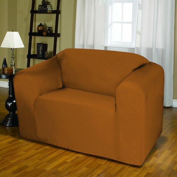 Jersey Box Cushion Loveseat Slipcover by Kashi Home