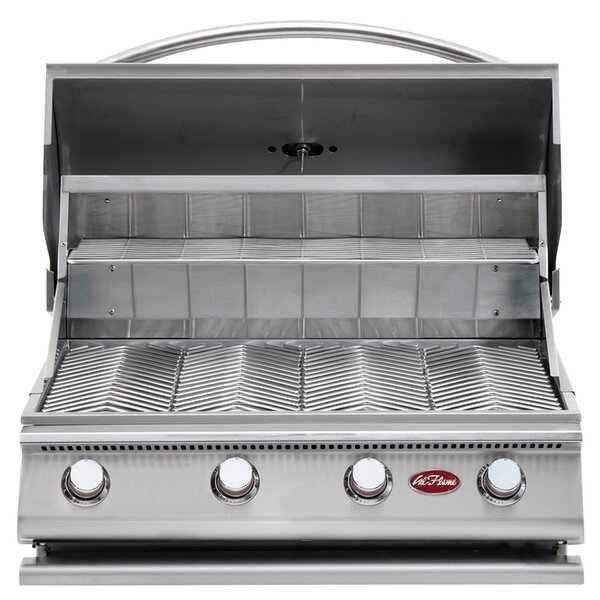 G-Series 4-Burner Built-In Propane Gas Grill by Cal Flame