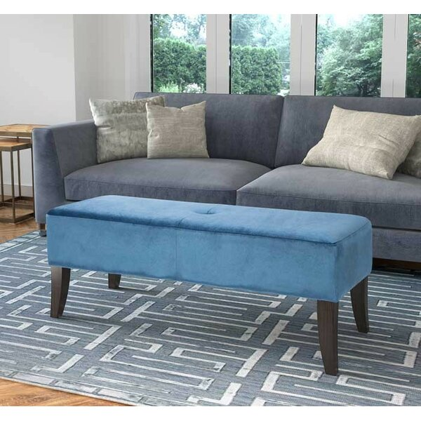 Rugeley Upholstered Bench by Mercer41 Mercer41