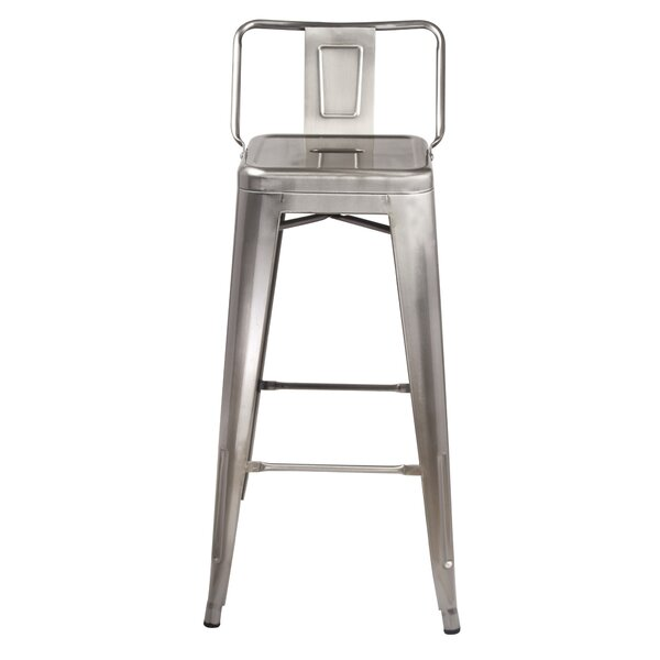 Mcshan Low Back 30 Bar Stool (Set of 4) by Williston Forge
