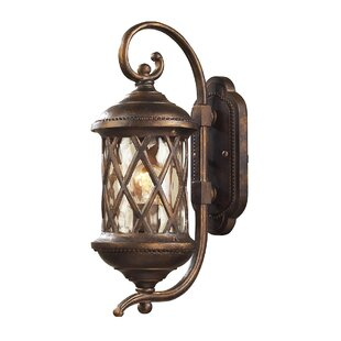 Whittington 1-Light Outdoor Wall Lantern By Fleur De Lis Living Outdoor Lighting