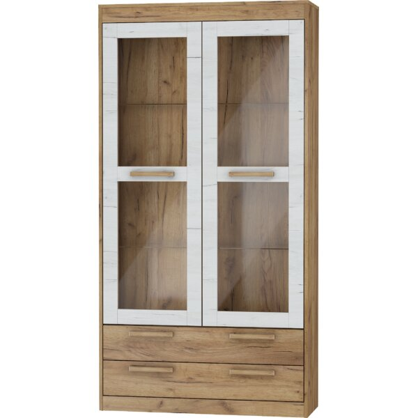 Columbia 2 Doors 2 Drawers China Cabinet by Ebern Designs