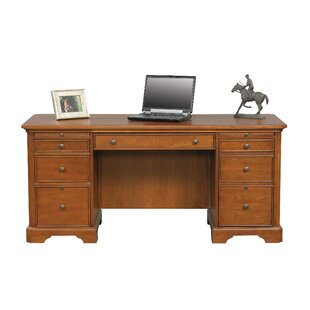 Look for Parnell Flat Top Executive Desk By Alcott Hill