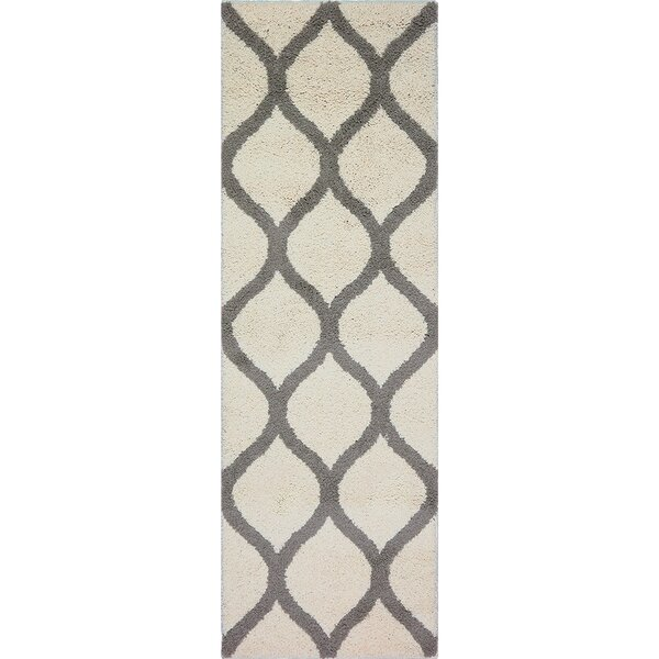 Hersom Cream Area Rug by Charlton Home