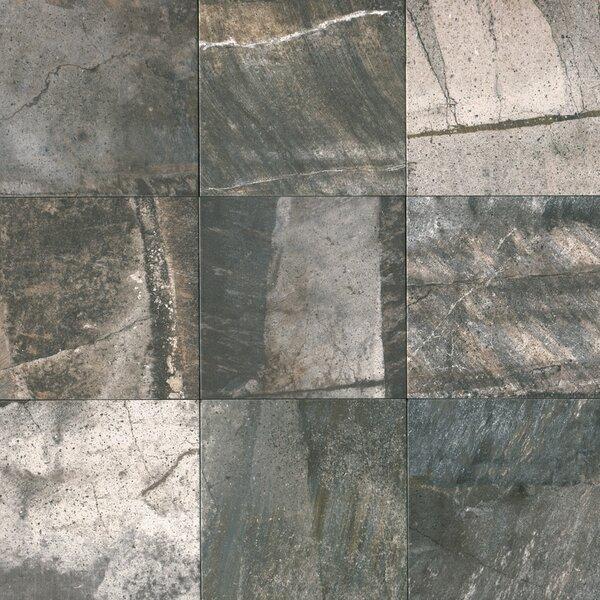 Ramires 13 x 13 Porcelain Field Tile in Deep Grey by Itona Tile