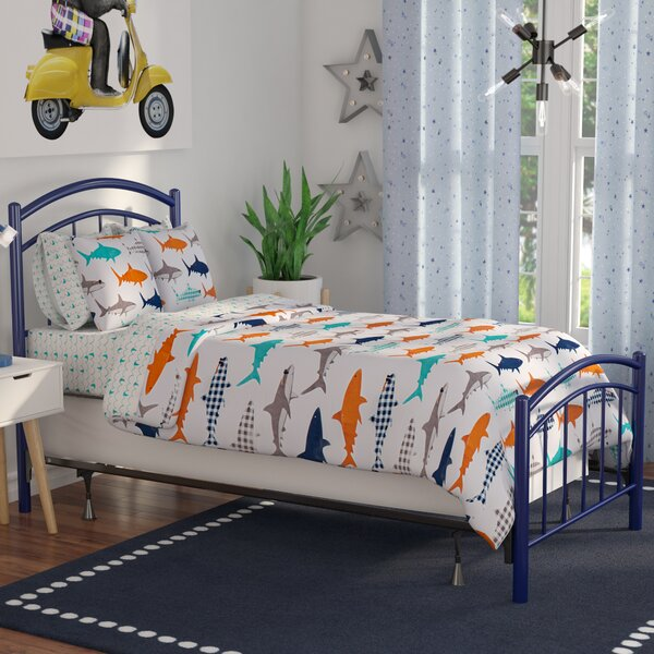 Kristy Complete Kids Panel Bed by Winston Porter