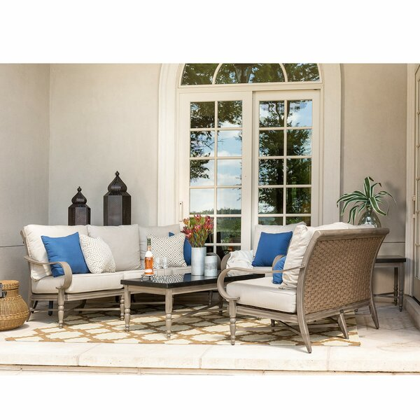 Saylor 6 Piece Seating Group with Cushions by Canora Grey