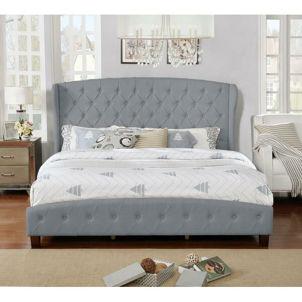 Vanesa Upholstered Platform Bed by Charlton Home