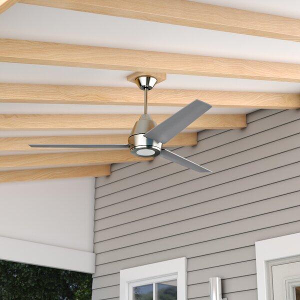 56 Parkside 3 Blade Outdoor Ceiling Fan by Wade Logan