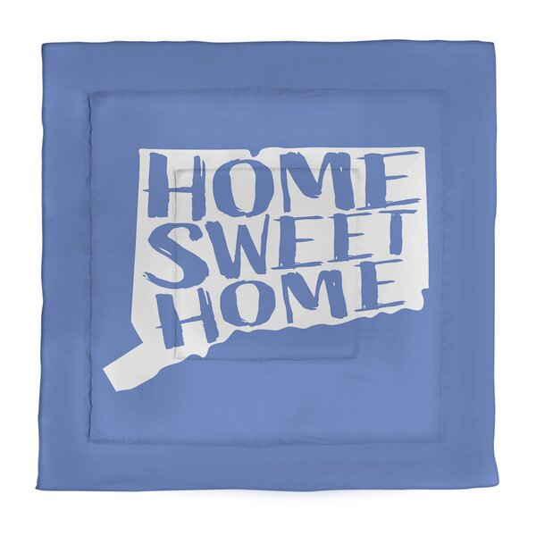 Connecticut Home Sweet Single Reversible Comforter