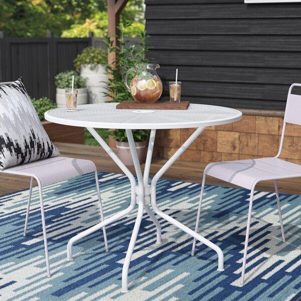 Vivanco Metal Dining Table by Wrought Studio