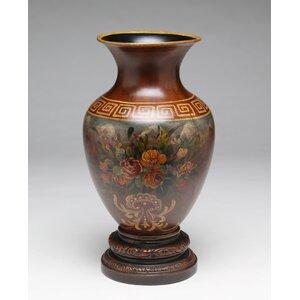 Floral Handpainted Vase