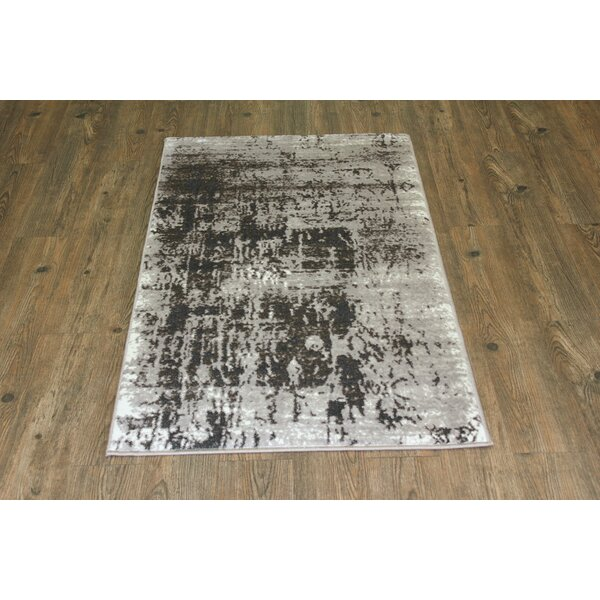 Fusion Silver/Gray Area Rug by Rug Factory Plus