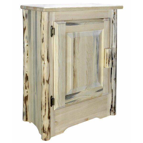 Shubert Left Hinged 1 Door Accent Cabinet by Millwood Pines