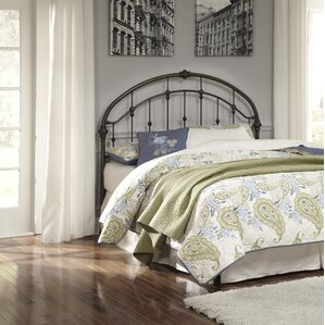 Dryden Queen Slat Headboard by Alcott Hill