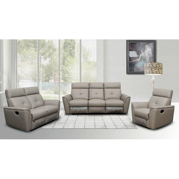Alexia Sleeper Configurable Living Room Set by Latitude Run