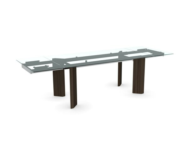 Tower Extendable Dining Table by Calligaris