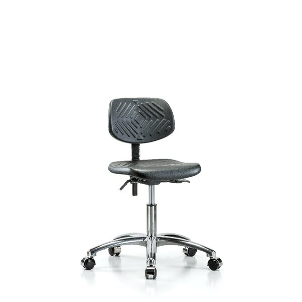 Industrial Low-Back Desk Chair by Perch Chairs & Stools