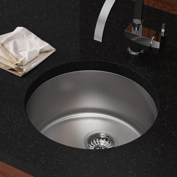 Stainless Steel 18 x 18 Dual Mout Kitchen Sink by MR Direct