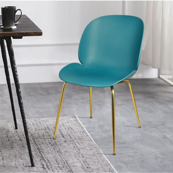 Margie Back Gilded Dining Chair (Set of 4) by Ivy Bronx